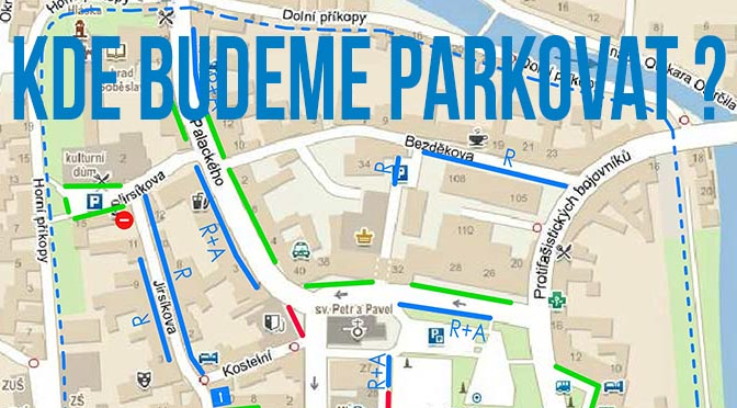 Prezentace: Parkování v centru města Soběslavi