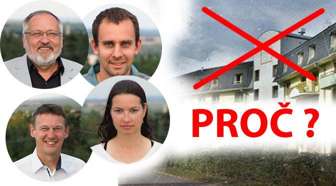 Proč jsme hlasovali proti nástavbě senior domu?