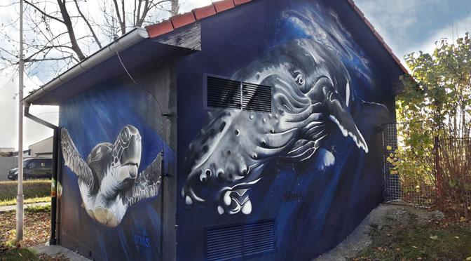 Graffiti v Soběslavi