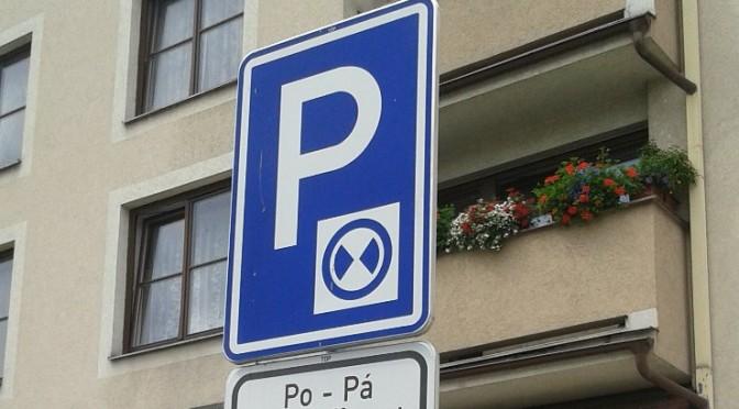 Změna v parkování na severní straně náměstí