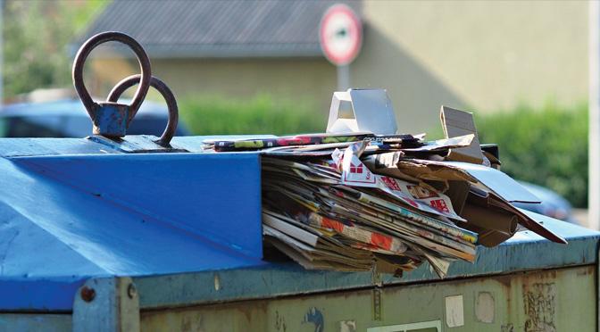 Pojďte to tam hodit aneb všechno není odpad